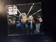 CD SINGLE - BON JOVI - SAY IT ISN'T SO - 1 TRACK UK PROMO