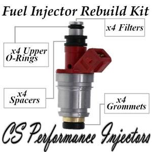 Fuel Injectors Rebuild Kit fits JS21-1 for 1990-1994 Nissan D21 Pickup 2.4L I4