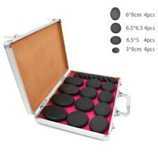 Massage Natural stone set hot spa rock basalt stone with heater box 20V