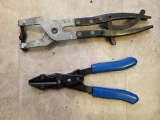 Blue-Point Tool USA PHP1 Swivel-Jaw Hose Clamp Clamping Pliers w/ other Pair LOT