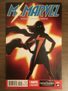 Ms. Marvel 2 2014 Kamala Khan 1st printing NM