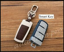 Metal Smart Key Shell Box Bag Case Fob Cover Trim For VW CC Passat CC Magotan