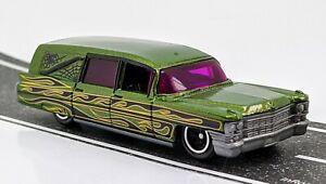 1963 Cadillac Hearse > Metallic Green > Matchbox > 2018 > Mint Loose