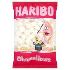 HARIBO CHAMALLOWS 1KG LARGE BAG MARSHMALLOWS SWEETS BIRTHDAY PARTY BAG FILLERS