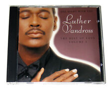 CD: Luther Vandross - One Night With You: The Best of Love Volume 2 (1997, Epic)