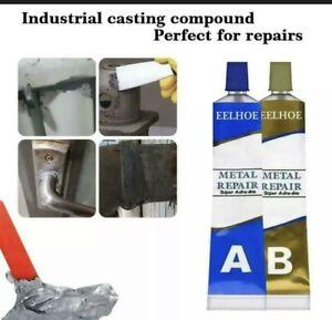 65g Industrial Heat Resistance Cold Weld Metal Repair Paste Adhesive A&B Gel
