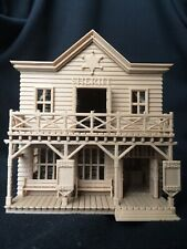 NEW Wood Miniature Old West #3 Sheriff Jailhouse HO Scale Built w/Interiors Game
