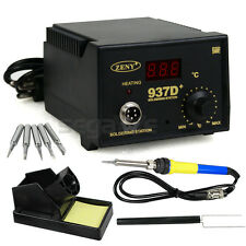 SMD Tool 5 Tips Stands ESD+937D Soldering Station Hot Iron Welding 110V Hot-Sell