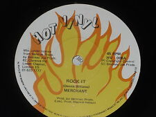 "Merchant:  Rock It  Mint promo  7"" + press release"