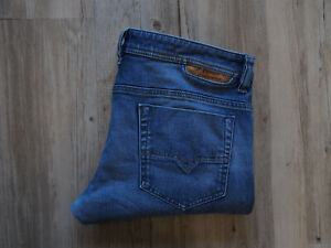 DIESEL SAFADO 0848C_STRETCH Regular Slim Straight Jeans W34 L32 GZ429