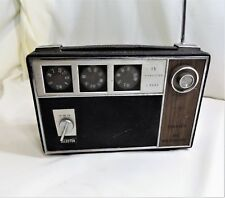 Vintage Granada AM FM SW 15 Transistor Radio Model FM-15663DS, AC/DC, Works