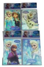 Disney Frozen Set 4 Lenticular 3D Stickers Cards