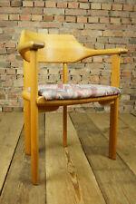 60er Vintage Stuhl Ansager Mobler Lehnstuhl Denmark Chair Danish Buche Armlehner