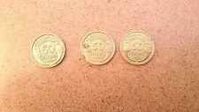 Pièce de Monnaie 50 cts 1932-1938-1939  (lot de 3)
