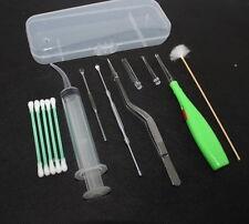 Tonsil Stone Remover Kit w/ LED Light & Box + Irrigation Syringe + Premium Tool