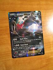 NM Pokemon DARKRAI EX Card BREAKPOINT Set 74/122 XY X and Y Ultra Rare 180HP TCG