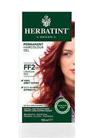 Herbatint Coloration naturelle à base de plantes TEINTURE Crimson Red FF2 150ml