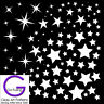 Star Fusing Glass Decal Ceramic Waterslide Enamel-White Gold Metallic Hi Fire
