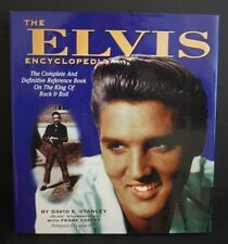 1994 The Elvis Encyclopedia by Davis E. Stanley - Signed - Hardcover