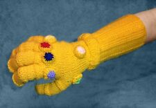 KNITTING PATTERN - Infinity Gauntlet inspired Avengers War Glove - fits Adult