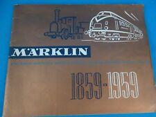 Marklin Katalogue Jubilee 1959 NL