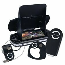 GameDr 4-Piece Accessory Kit for Sony PSP (Lens, Cleaner, Glare Shield, Lock )