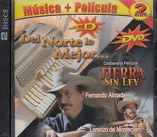 Los Alegres de La Sierra,Los Ciclones del Arroyo + Tierra Sin Ley DVD New Nuevo