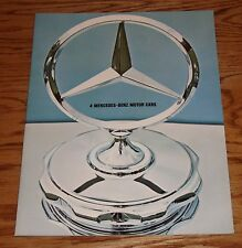 Original 1965 Mercedes Benz Full Line Sales Brochure 65 230 230S 200 200D