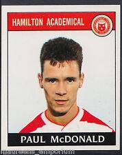 PANINI CALCIO 1989 Sticker-n. 396-Hamilton-Paul McDonald (d1)