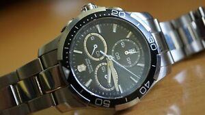 VICTORINOX 241302 Alliance Sport Black Dial Stainless Steel Men's Watch