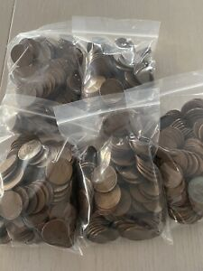 Wheat Penny Bags - 300 coins - (1909-1958) - P/D/S - Unsearched