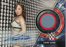2018 TOPPS WWE WOMEN'S DIVISION AUTO/MAT RELIC GOLD KAIRI SANE #5/10