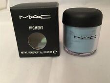 MAC CLEAR SKY BLUE Pigment EyeShadow EyeShadow  .26OZ/7.5G BNIB