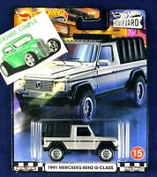 Hot Wheels - MERCEDES-BENZ '91 G-Class - Boulevard - Car Culture Premium
