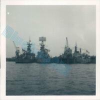 Royal Navy Ships HMS Rothesey ,Barrosa & Verulam Portland 1962 3.5 x 3.5 inch