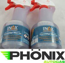 2x Inox 500ml Felgenreiniger Alufelgenreiniger Pumpsprühflasche Felgen Reiniger