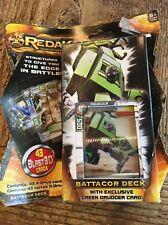 NEW REDAKAI Battacor Deck Exclusive Green Drudger Card 43 Blast3D X-drive Cards