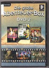 Die große Abenteuer Box DVD 2 Runaway + Tony Tough + The Westerner PC Spiele
