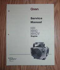 ONAN  NH, NHC & NHCV ENGINE SERVICE MANUAL 940-0751