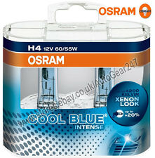 Osram H4 12v 60/55w Cool Blue Intense 4200K Car Headlight Headlamp Bright Bulbs