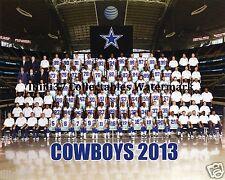 2013 DALLAS COWBOYS FOOTBALL TEAM 8X10 PHOTO PICTURE RP