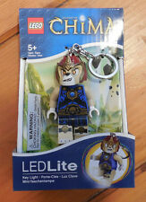 Lego Legends of Chima Laval LED Key Light Keychain New in Box Flash Light