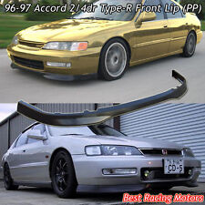 TR Style Front Bumper Lip (PP) Fits 96-97 Honda Accord