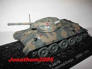 Char - Tank T-34/76 A Armored Body USSR 1942 to the / Of 1 /72°