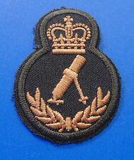 Canadian Armed Forces CANADA MORTAR qualification trade sleeve patch badge LVL 4