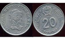 HONGRIE  20 forint  1986  ( bis )