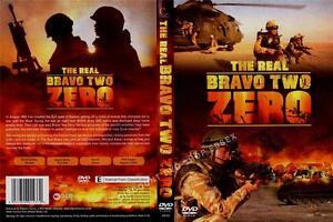 THE REAL BRAVO TWO ZERO. A NEW CELLOPHANE WRAPPED DVD.