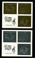 Guyana(1993) 1996 Atlanta Olympics Michel 4294-99var RARE IMPERF Souvenir Sheets