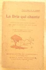 Paul Bru et E. Bidot, La Brie qui chante