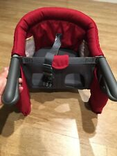 Inglesina Fast Table Chair With Dining Tray For 6-36 Month Old Red